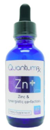 QuantumRX Zn+ Liquid Elemental Zinc