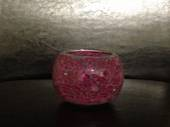 Pink Mosaic Soy Candle